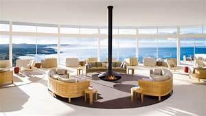 Cheminée Centrale Prix : cheminee centrale focus ~ Premium-room.com Idées de Décoration