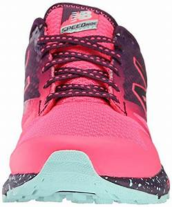 New Balance Women's WT690V1 Trail Shoe, Pink/Asteroid, 6 D ...