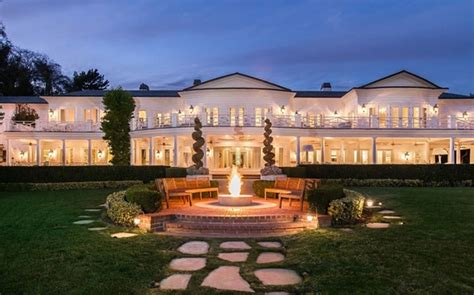 home theater planning max azria lists his holmby mansion for sale