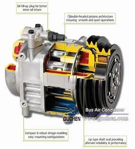 Valeo Tm 55    Tm65 Compressor For Bus Air Conditioning