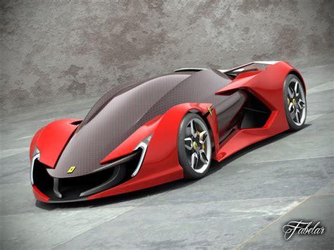 3d Ferrari Impronta Concept Car Model
