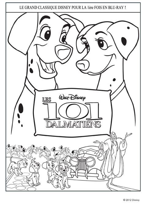 coloriage  dalmatiens intro sur hugolescargotcom