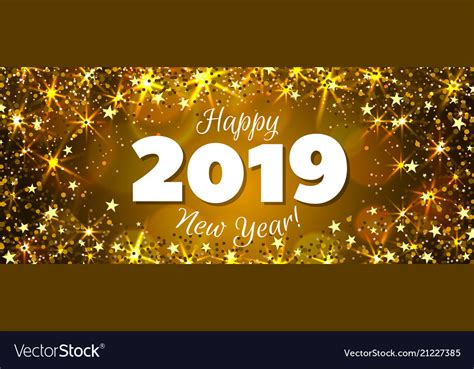 Happy New Years Images Happy New Year 2019 Banner Royalty Free Vector Image