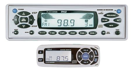 Pyle Boat Stereo Reviews by Pyle Boat Marine Stereo Plcd16mrwb Am Fm Mpx In Dash