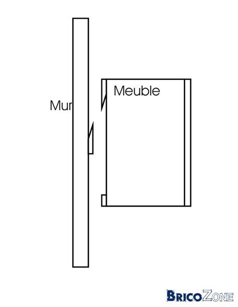 comment fixer un meuble de cuisine au mur meubles suspendus mais comment