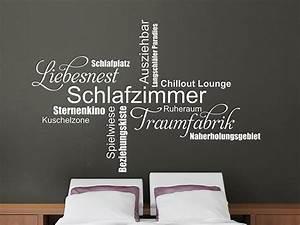 Wandtattoo Moderne Schlafzimmer Begriffe Wandtattoosde