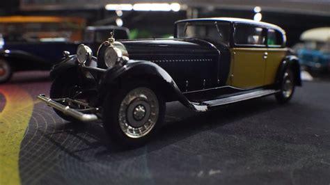 It weighs approximately 3175 kg (7000 lb). Cars on the Shelf: 1929 Bugatti Royale Type 41 Coach Weymann