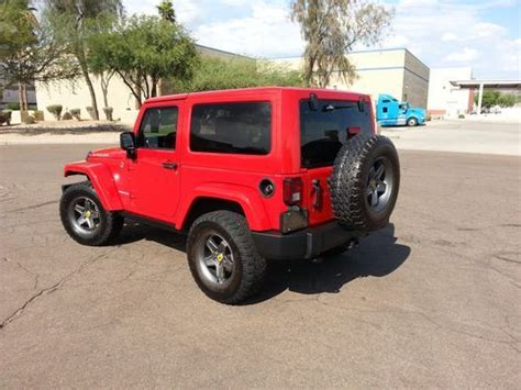 Jeep Wrangler Color Hardtop by Find Used 2012 Jeep Wrangler Rubicon Color Matched Hardtop