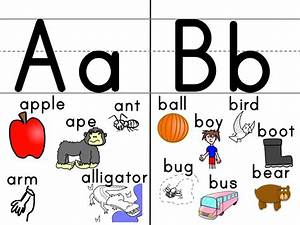 the kindergarten english blog an english teacher39s esl With letter a flashcards with pictures