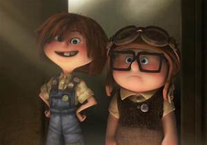 Pixar Couples images Young Carl and Ellie wallpaper and ...