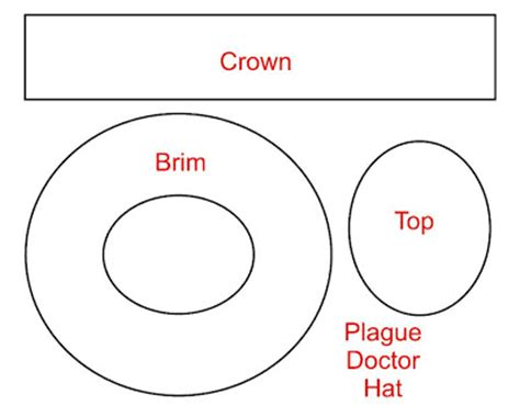 top hat template tom banwell leather and resin projects a plague doctor s hat