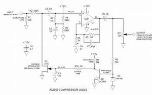 Audio Compression Amplifier   Agc  U2013 Circuit Wiring Diagrams