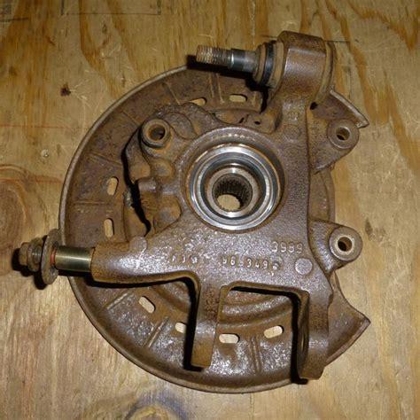 xc removing rear wheel hub  spindle hub bearing