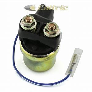 Starter Relay Solenoid Fits Yamaha Xj700 Maxim 700 1985 1986 Motorcycle New