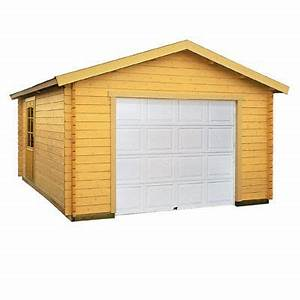 Garage Bois 20m2 : garage bois blooma suomi 19 09 m castorama ~ Melissatoandfro.com Idées de Décoration