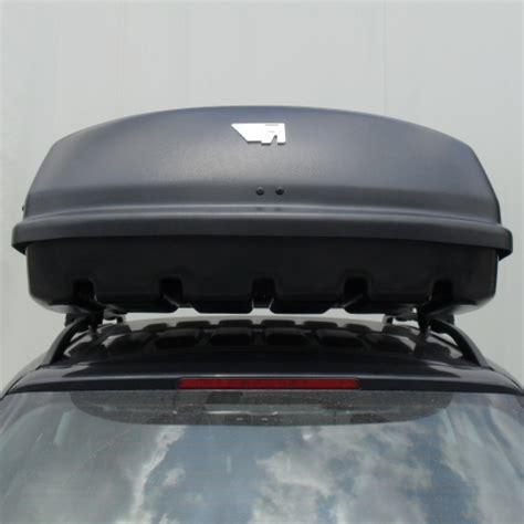 box portatutto auto gev coffre de toit farad marlin f3 680l noir