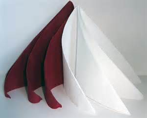 pliage de serviette de table en forme de spirale ou de sapin de no 235 l moderne r 233 aliser une