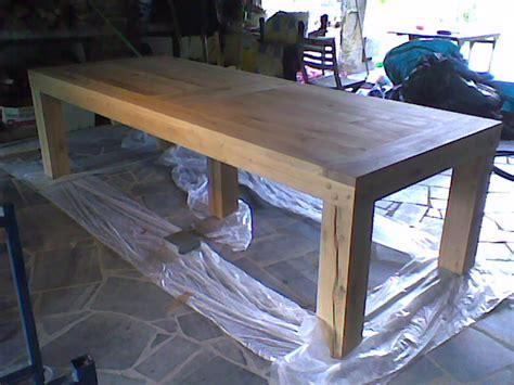 faire sa table a manger le bois m 233 tier ou