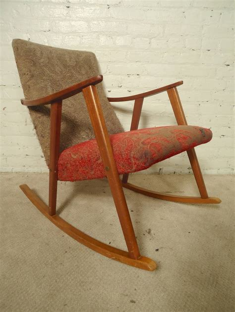 mid century rocking chair for sale at 1stdibs
