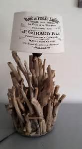 Lampe Chevet Bois Flotté : lampe de chevet en bois flotte luminaires par les flottes51 ~ Melissatoandfro.com Idées de Décoration