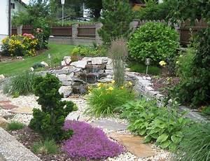Pflanzen Für Steinbeet : pin von ren wei auf garten pinterest garten steingarten und kies ~ Orissabook.com Haus und Dekorationen