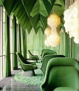 60s Pop Art Furniture Green - Interiors By Color