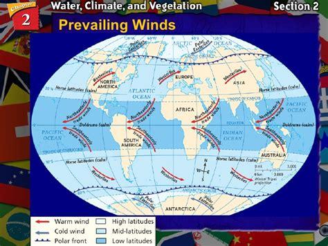 Map Winds World Map