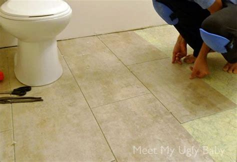 Groutable Self Adhesive Vinyl Floor Tiles by Pin By Tristin Brenneke On Remodel Ideas