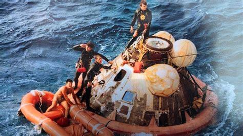 navy seal st person apollo  crew   moon return