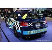 2017 Subaru WRX STI Anti Bullying Sedan Car On Display