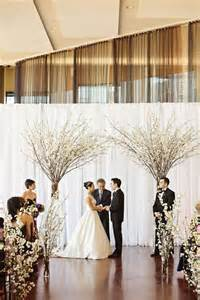 cheap aisle runners 30 winter wedding backdrops that excite happywedd
