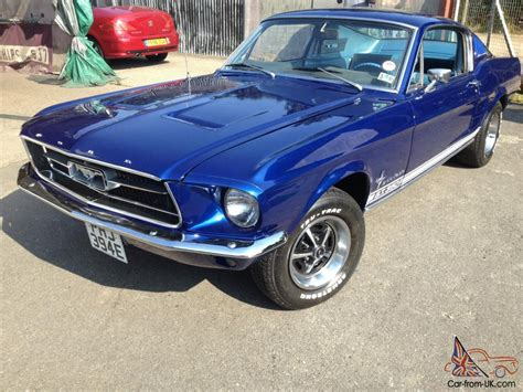 Ford Mustang For Sale Ebay by Ford Mustang Fastback Blue Ebay Motors 161083570621