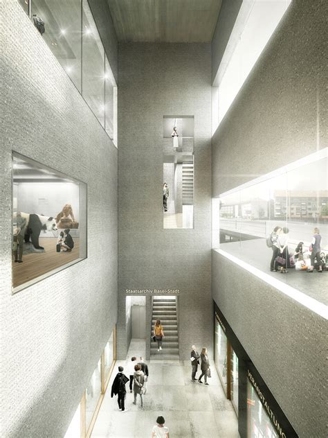 gallery of em2n to build basel s new museum of history and state archives 6