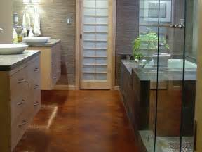 Flooring Ideas For Bathrooms Bathroom Flooring Options Interior Design Styles And Color Schemes For Home Decorating Hgtv