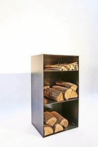 Regal Für Brennholz : holz regal mit r ckwand und einem extrafach f r anmachholz firewood racks kaminholz regale ~ Eleganceandgraceweddings.com Haus und Dekorationen