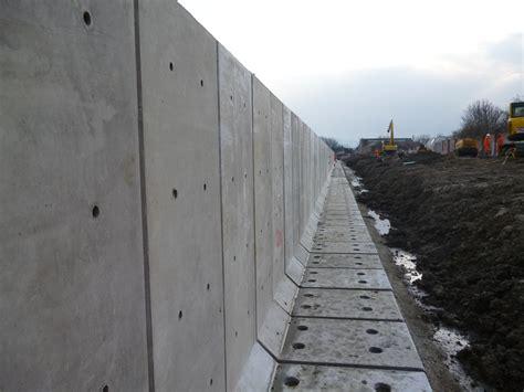 in wall l precast concrete l shape retaining walls