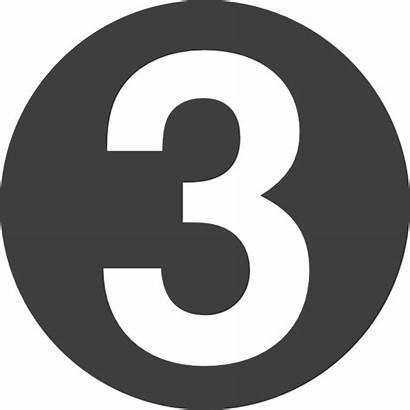 Number Clip Clipart Vector Clker