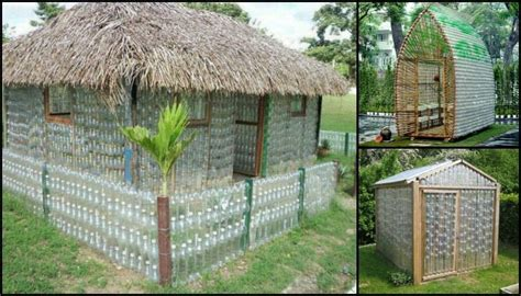 build   recycled plastic bottle greenhouse