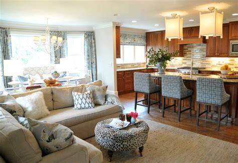 Decorating Ideas For Open Living Room And Kitchen - open concept kitchen living room design ideas sortra