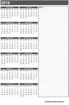 printable calendar yearly calendar pinterest calendar