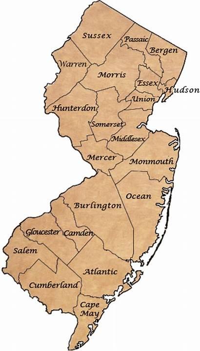 Revolutionary War Jersey Historic Guide Map Locations