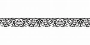 Tapeten Bordüre Weiß : tapetenborte bord re barock schwarz wei as 30389 3 ~ Orissabook.com Haus und Dekorationen