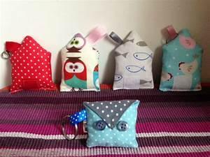 Petit Cadeau à Faire En Couture : tuto porte cl s en tissu ou le cadeau de noel fait maison facile et rapide le blog de ~ Melissatoandfro.com Idées de Décoration