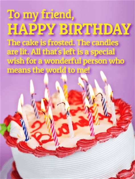 world   happy birthday wishes card