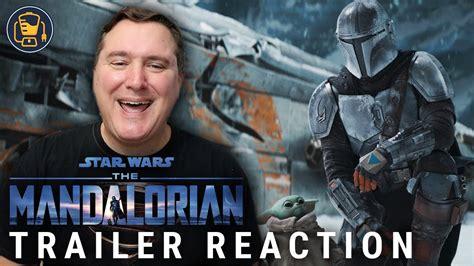 The Mandalorian Season 2 Official Trailer Reaction ...