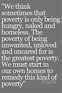 Quotes About Hu... Food Poverty Quotes
