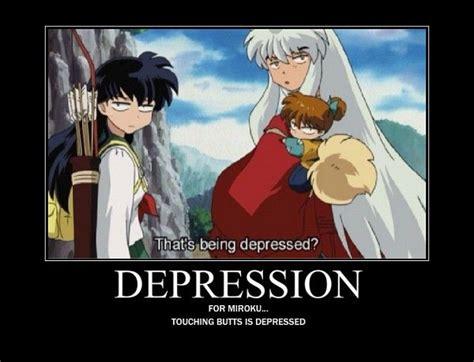 Inuyasha Memes - depression inuyasha pinterest depression funny and lol