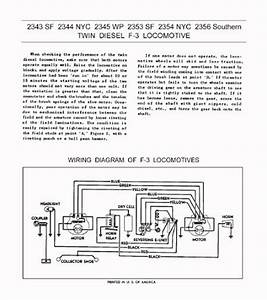 Repair Manual Page Set For The Lionel 2343 Santa Fe F3
