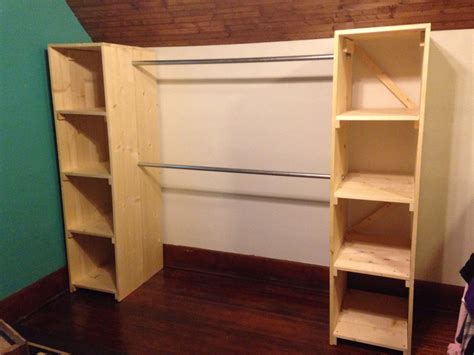 Free Standing Coat Closet by My Free Standing Closet Is Finished It S For Our