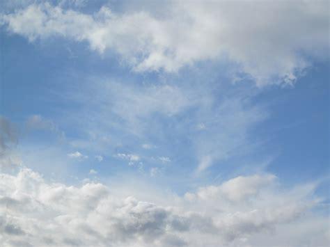 photo clouds sky blue cloud pattern  image